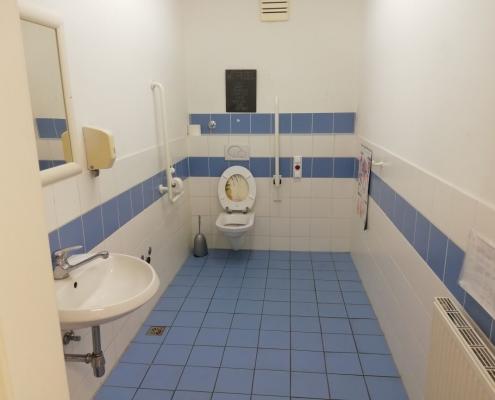 Barrierefreies WC Dr. Melitta Bohn
